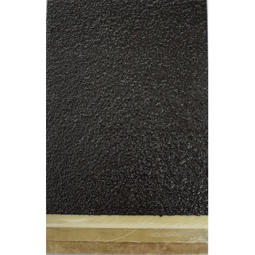Black epoxy sanding ramp