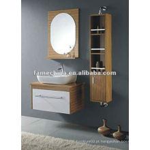 MDF Melamine wall mounted Bathroom Cabinet free paint