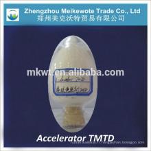 TMTD (no CAS NO.:137-26-8) pour l'industrie du caoutchouc