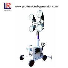 Scheinwerfer-Generator Tragbarer Generator Arbeitslicht Turm