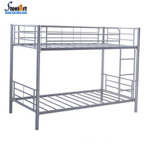 Adult bunk bed metal double bed design furniture
