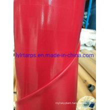 High Quality Red PVC Tarpaulin Cover