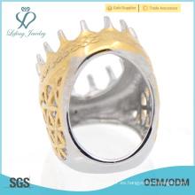 Indinesia claw casting diseños de oro anillos de dedo descuento