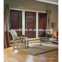 Stained wood slats, basswood slats