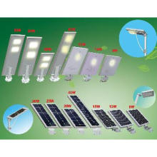 CE ROHS IP65 approved 8W~40W Integral Design all in solar street light