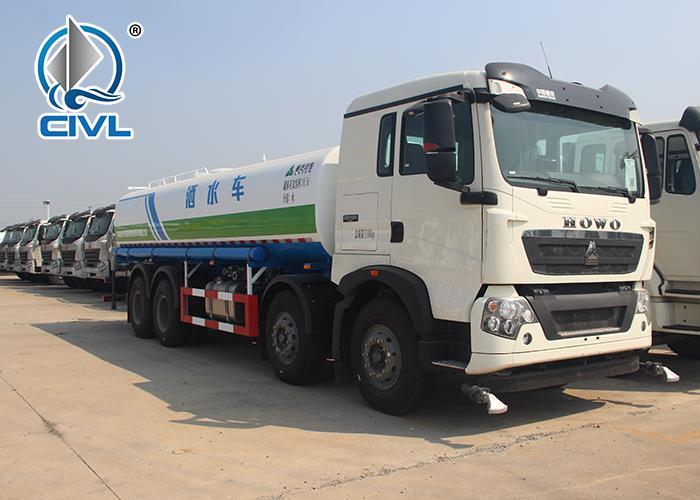 8x4 Water Tank Truck 4
