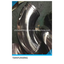 Polished 90deg Lr Stainless Steel Fittings Sanitary Elbow