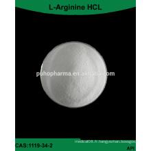 Alimentation en usine GMP bulk l-arginine HCL Powder