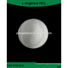Factory supply GMP bulk l-arginine HCL Powder