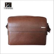 Venda quente bolsas de couro bolsas de couro dos homens genuínos bolsas de couro do saco