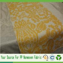 Tissu imprimé non-tissé de Spunbond de la Chine usine PP