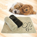 Microfiber Durable Quick Drying and Washable Chenille Dog pet Mat