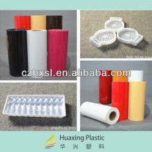 Rolls white plastic sheet made in China