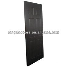 Good price wooden door coated with PVC for Nigeria market