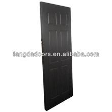 Хорошая цена деревянные двери, покрытые ПВХ для рынка Нигерия
