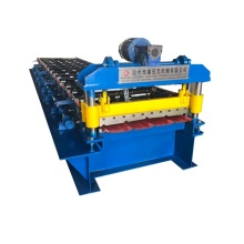 Trapezoidal roofing sheet roll forming machines