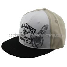 Bordado de impresión plana Bill Snapback Sport Baseball Hat (TMFL1303-2)