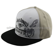 Flat Bill Print Broderie Snapback Sport Baseball Hat (TMFL1303-2)