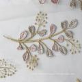 Fuchsia Nigerian Lace Fabric for Wedding Dress