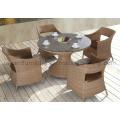 Outdoor Restaurant Garden Wicker Furniture Rattan Wicker Table Chair (D527; S227)