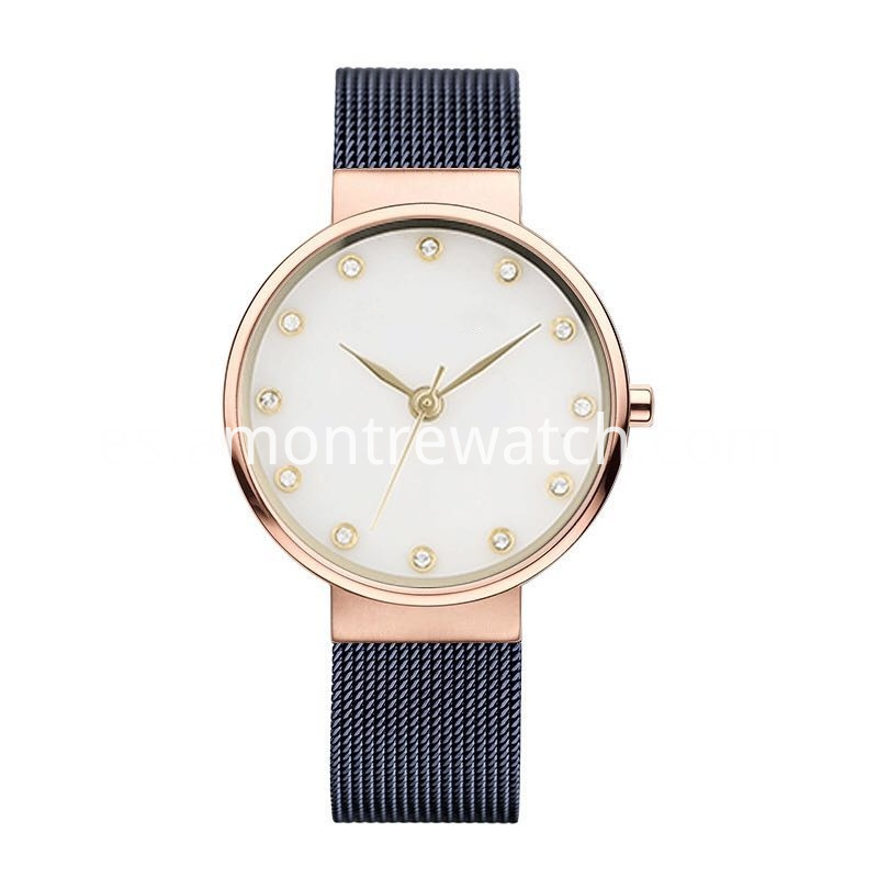 Men Mesh Band Watches