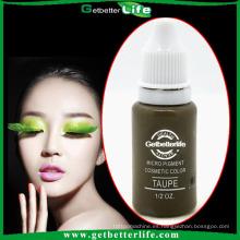 getbetterlife 2014 tinta de tatuaje maquillaje permanente pigmento líquido-labio y cejas