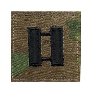 Military Rank Insignia Hook Patches