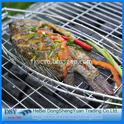 Barbecue grill wire mesh