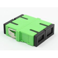 Sc/APC Siglemode Duplex Fiber Optic Adapter with Flange