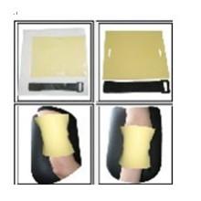 Accesorios de tatuaje Caucho Práctica piel con calidad de marca