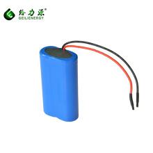 18650 li ion battery 7.4 V 2500mAh, batería de grafeno con ciclo profundo para Toy / control remoto