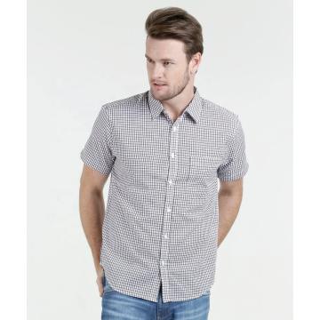 Kurzarmhemden aus 100% Baumwolle
