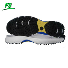 Professional rubber spikes cricket shoe outsole