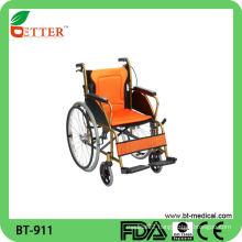 Folding Manual Hadicapped Aluminum Wheelchair