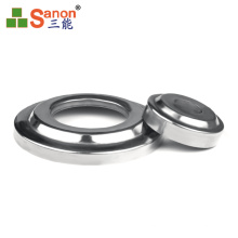 High Quality Round Stair Handrail Stainless Steel Handrail Base Plate Cover ,Stair Handrail Covers