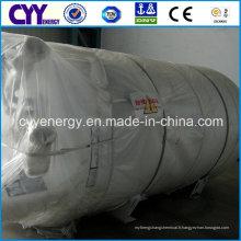 Réservoir cryogénique d'oxygène liquide médical basse pression
