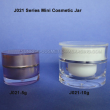 5g 10g Round Shape Trial Sample Jar