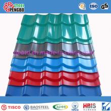 Tôle ondulée de toiture d'acier inoxydable de Chine