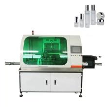 Автоматическая машина для трафаретной печати на квадратных бутылках