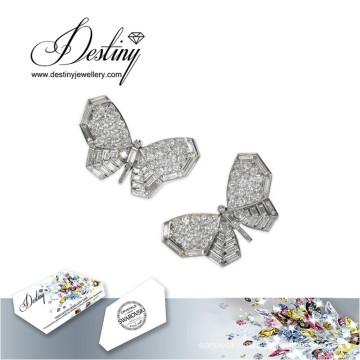 Destiny Jewellery Crystals From Swarovski Earrings Butterfly Earrings