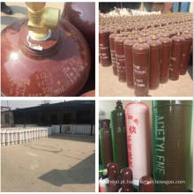 China cilindro de gás do acetileno 40L