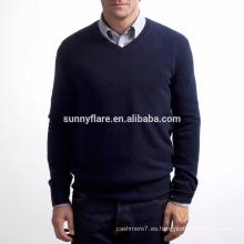 Suéter de cachemira pura de los hombres calientes calientes vendedores calientes