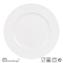 27cm Porcelaine Dinner Set Design en relief