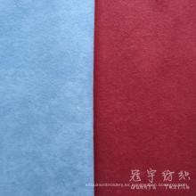 Tejido de terciopelo moteado punto tela textil hogar