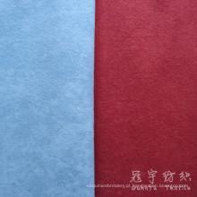 Tela de matéria têxtil home feita malha de veludo do speck da pilha