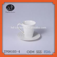 Tazas y platillos Tipo de vaso y LFGB, FDA, CE / UE, SGS Certificación Copa de beber novedad