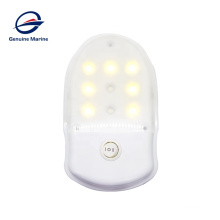 Square Surface Mount Interior 12V LED Boat Marine Caravan RV Ceiling Light For Car With Switch