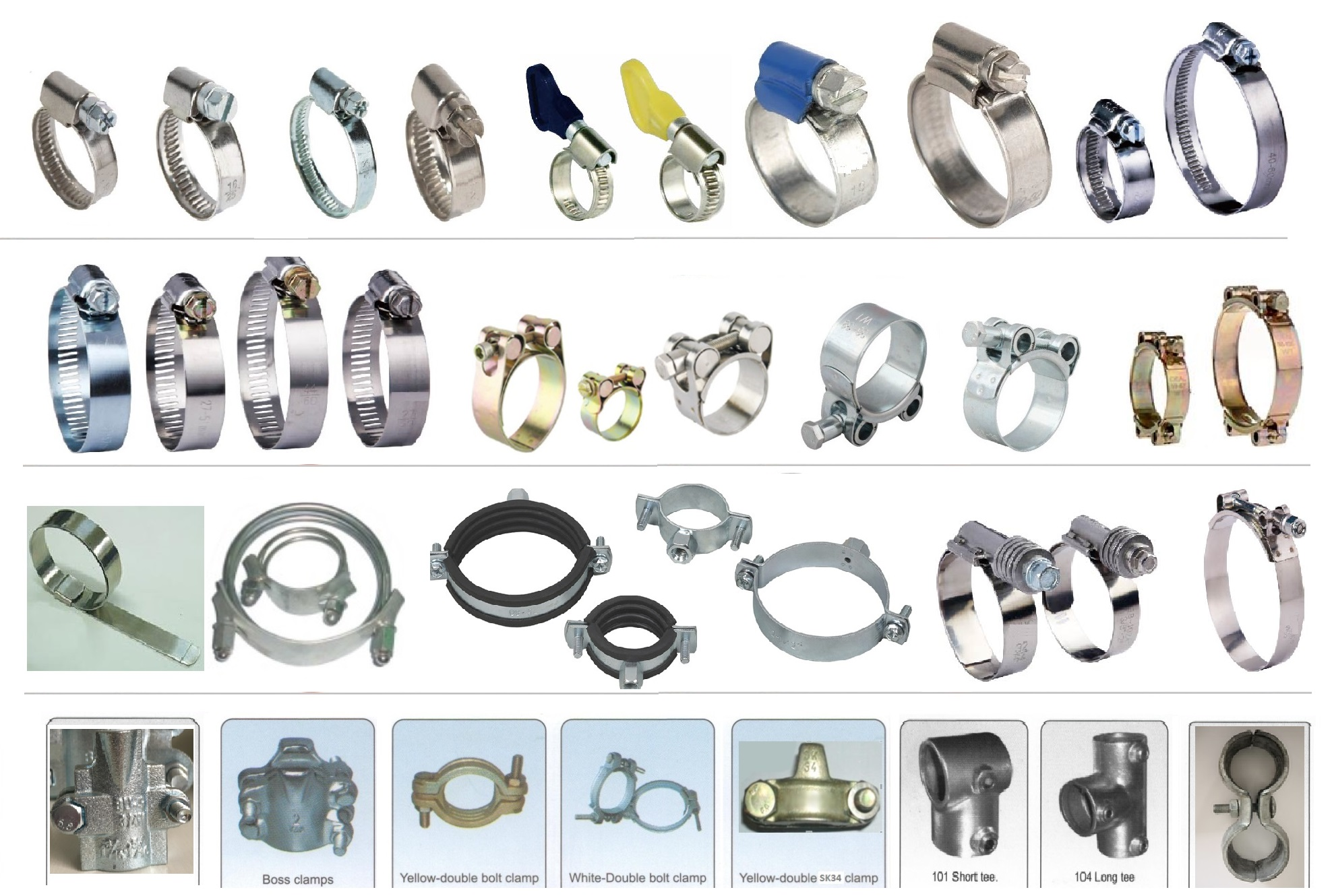 Kinds Of Clamps