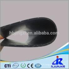 Feuille de caoutchouc d'insertion de tissu de haute résistance