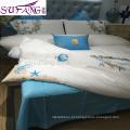 Amostras Disponível Four Season Jacquard Luxo Brilhante Bedding Conjunto de Quarto Italiano Luxo